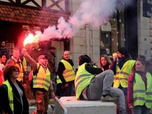 """Още една жертва на протеста на """"жълтите жилетки"""" във Франция"""