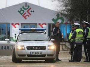 """Над 350 полицаи охраняват площад """"Александър Батенберг"""" в новогодишната нощ"""