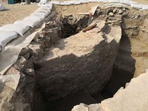 Археолози разкриха уникален басейн в Голямата базилика СНИМКИ