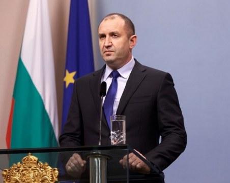 Президентът се обърна към нацията - ето какво каза Румен Радев