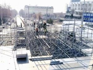 Сцената за откриването на Европейска столица на културата вече се издига на 3 нива СНИМКИ