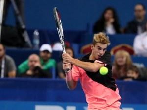 Български талант в тениса е втори в света при юношите