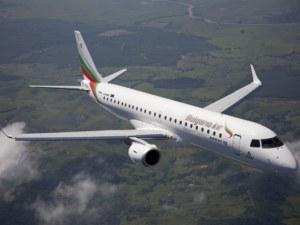 """Самолет на """"България Ер"""" кацна аварийно във Виена!"""