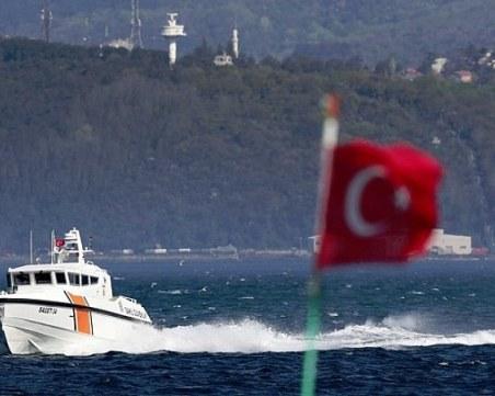 Двама души са загинали при потъването на кораб в Черно море