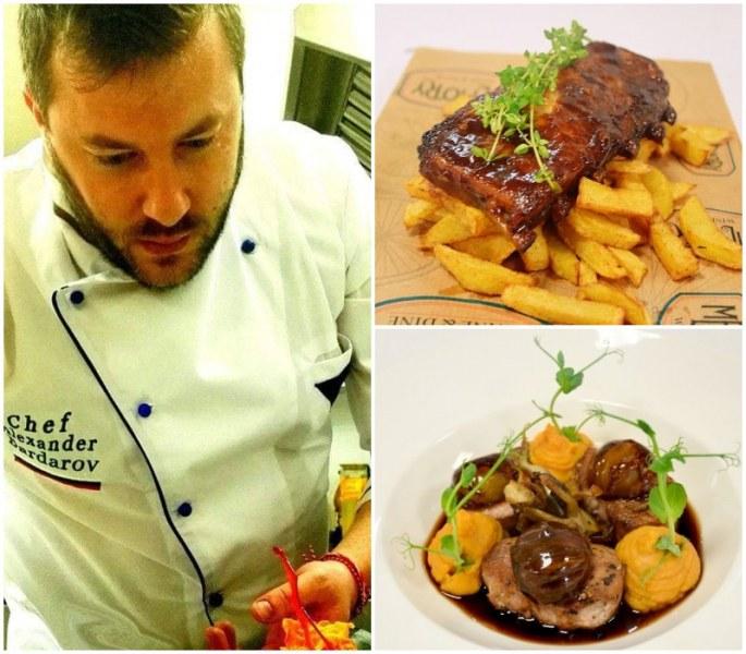 Шеф-готвачът на един от топ ресторантите на Пловдив за кулинарията като начин на живот СНИМКИ