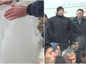 Замръзнал водопровод наложи режим на водата в Рибново