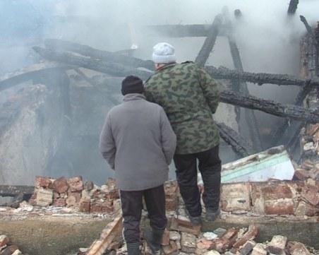 След пожара в родопско село: Хората ще изградят читалището наново