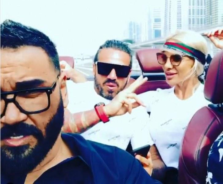 Азис, Златка и Джизъса щуреят в Дубай СНИМКИ