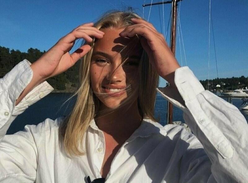 Малката тайна на норвежка красавица СНИМКИ и ВИДЕО