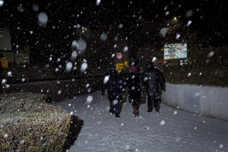 Пловдив под снега! ФОТОГАЛЕРИЯ