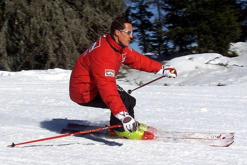 Появиха се кадри от тежкото падане със ски на Шумахер в Алпите ВИДЕО