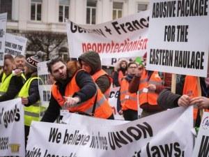 Лоша новина от Европарламента вбеси шофьорите ни в Брюксел