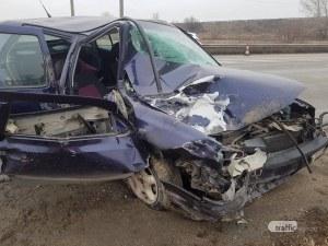 Жена е пострадала при катастрофата на Околовръстното на Пловдив СНИМКИ