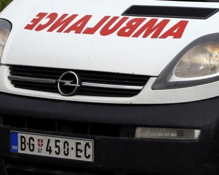 Двама българи са ранени при катастрофа край Белград