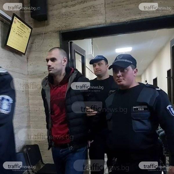 Отложиха делото срещу Калоян и Кабуто, нападнали сводник в затвора в Пловдив СНИМКИ