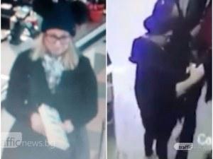 Серийни кражби по Главната в Пловдив! Руса мадама тараши наред ВИДЕО и СНИМКИ