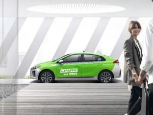 Такситата в Пловдив влизат в 21 век! Зелените коли на Трафик возят по стандартните тарифи