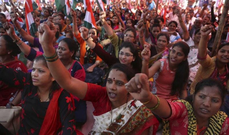 200 милиона души протестираха в Индия