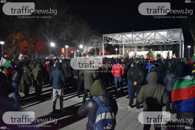 Шеста вечер Войводиново протестира!