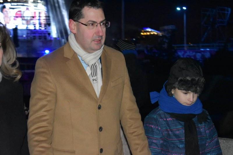 Тотев от мегасцената на Пловдив 2019: Даваме началото на велика година! ВИДЕО и СНИМКИ