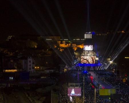 Над 50 000 души са гледали на живо откриването на ЕСК в Пловдив