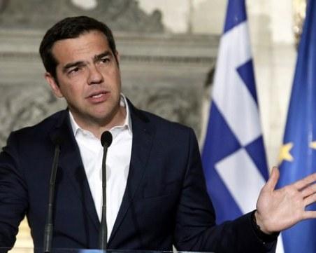 Ципрас иска вот на доверие към кабинета