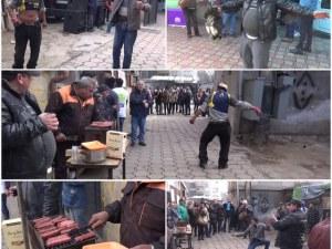 Петел, кючеци и пищни тържества, или как ромите от Столипиново посрещат Банго Васил ВИДЕО