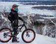 Ентусиасти карат велосипеди в снега - ето как  СНИМКИ