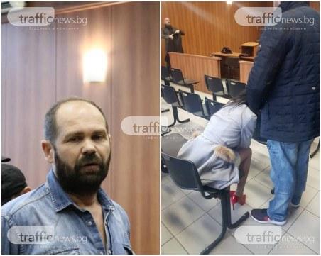 Рончев остава в ареста! Мегз избухна в сълзи, изпадна в истерия в съдебната зала СНИМКИ и ВИДЕО
