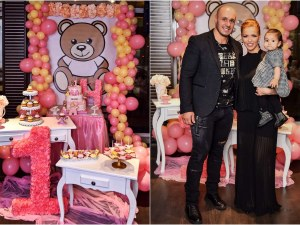 Магда със специално парти за първия рожден ден на дъщеря си СНИМКИ