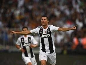 Роналдо подари на Ювентус и Суперкупата на Италия ВИДЕО
