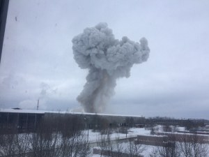 Взриви се цех в Ленинградска област