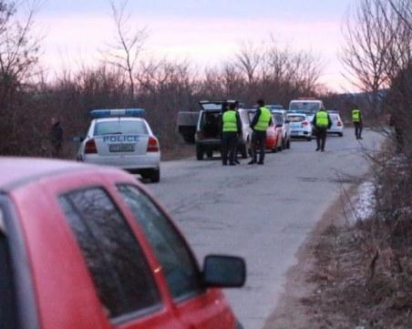 Хванаха избягалия от полицейската гонка край Стара Загора