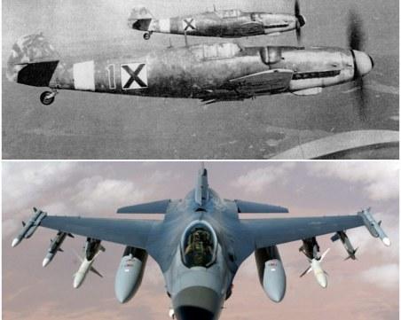 Лика-прилика сме с ястребовите F-16, също като на гол корем чифте пищови