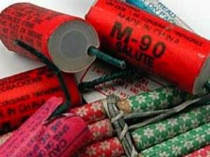 Полицаи откриха 200 кила опасни фойерверки в дома на мъж от Сопот