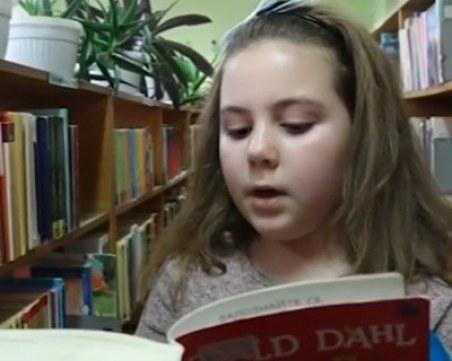 Любознателно момиченце от Силистра прочете 111 книги за една година