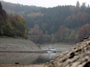 Една от най-важните реки в Европа започна да пресъхва