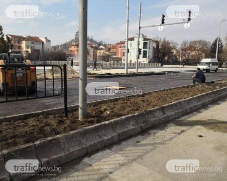 След откриването на Пловдив 2019: Новите плочки по булеварда вече са изпочупени СНИМКИ