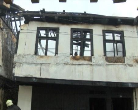Три къщи в центъра на Габрово изгоряха