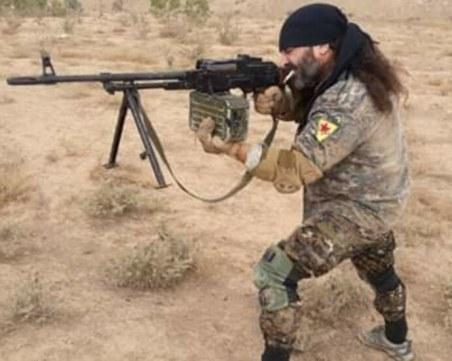 """Българин, който се е сражавал срещу """"Ислямска държава"""", се завърна в родината"""
