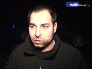 Водачът на смачканото беемве - военен, бързал да се прибере към Пловдив ВИДЕО