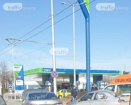 Катастрофа блокира движението на Кукленско шосе СНИМКИ