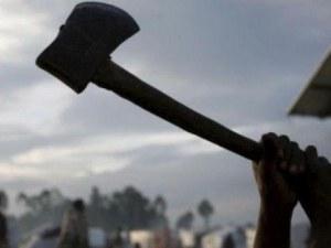 33-годишен мъж се развилня с брадва в заведение в Цалапица