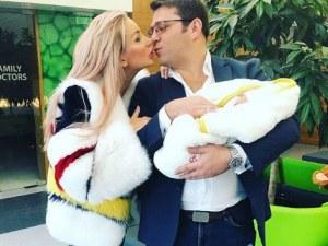 Антония Петрова показа малкия Благовест СНИМКА