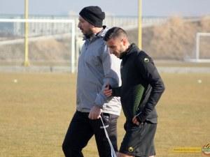 Карачанаков с първа тренировка в Ботев