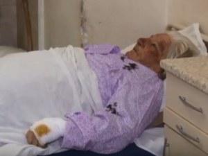 Състоянието на баба Иванка, пребита от ром, се подобява ВИДЕО