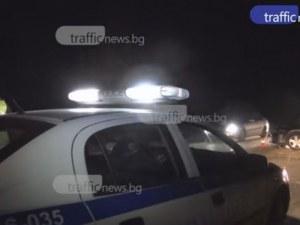 Апаш задигна буса на мъж край Пловдив, катастрофира с него на магистралата и избяга