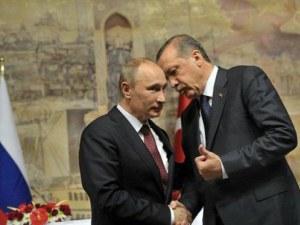 Ердоган и Путин обсъждат създаване на зона за сигурност в Сирия