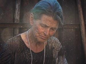 Козичка подариха на баба Дора от село Шарково