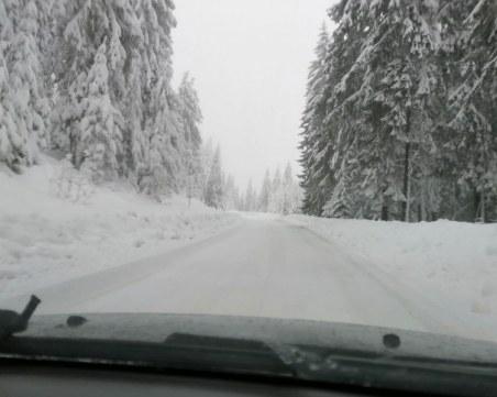 Леките автомобили пътуващи през Превала - задължително с вериги